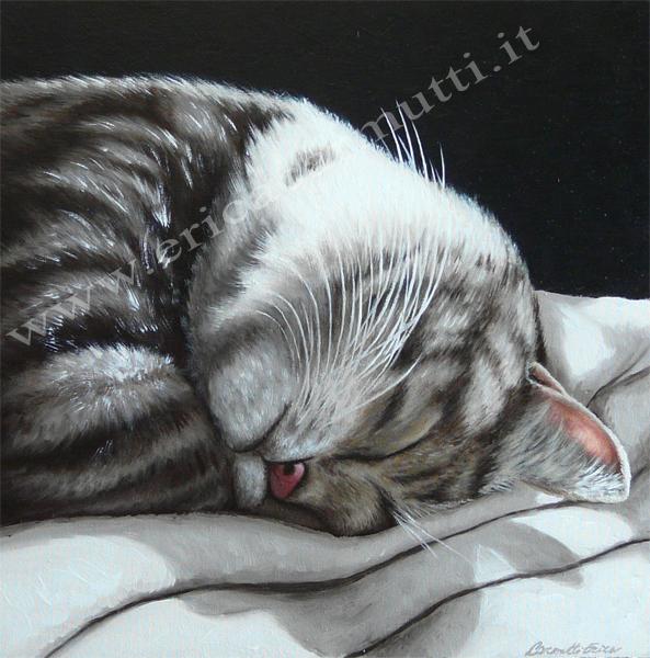 Panizza arte i quadri fiabeschi con i gatti - Olio di ruta repellente gatti ...